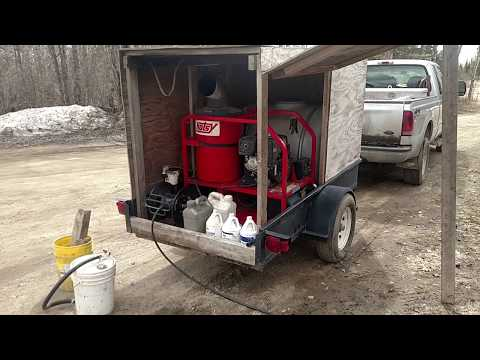 Hotsy Portable Pressure Washer Overview