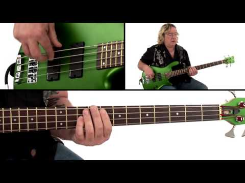Download Youtube: Funk Bass Groove Lesson - Funk Stew Breakdown - Stu Hamm