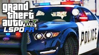 GTA 5 LSPDFR SP #21 - Hit and Run