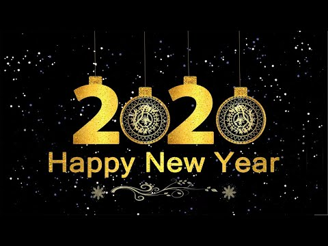 Happy New Year 2020 - New Year Status Copyright Free