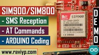Using Arduino with SIM900/SIM800 for receiving SMS commands