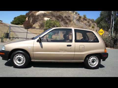Daihatsu Charade EFI 1 Owner 64k miles Smart Mini car hatchback Toyota with CB-90
