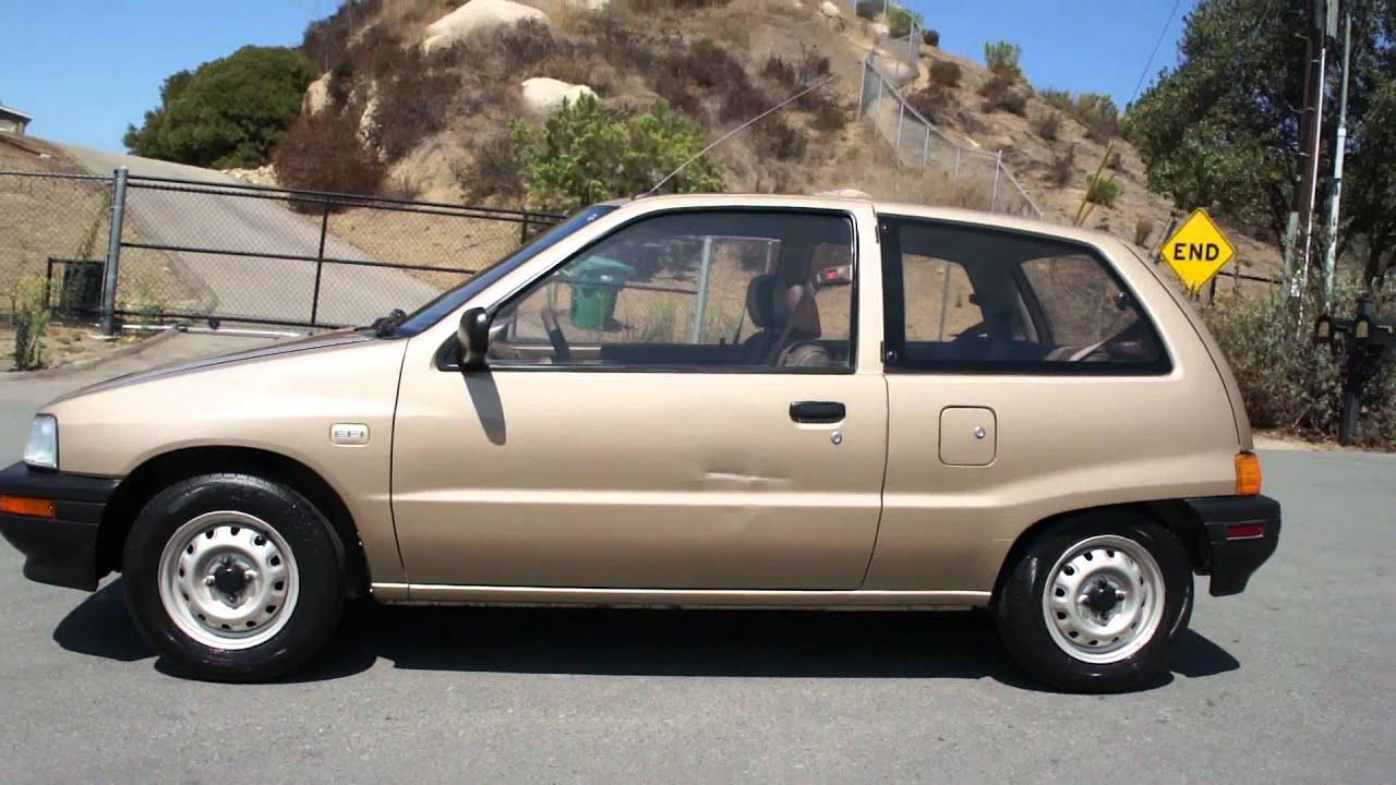 Daihatsu Charade Efi 1 Owner 64k Miles Smart Mini Car Hatchback