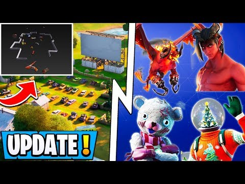 *NEW* Fortnite 11.20 Update! | All Christmas Skins, Ch 2 Live *Event* Leak, New Items!