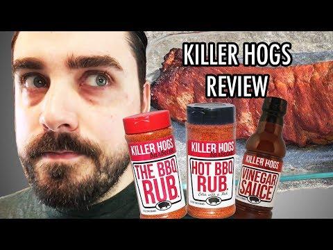 EJ Reviews: Killer Hogs BBQ Rub, Hot BBQ Rub, Vinegar Sauce