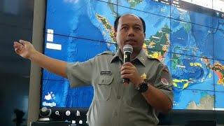 BNPB Sampaikan Kronologi Gempa Bumi di Sulawesi Tengah