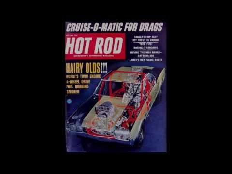 Hot Rod Magazine covers 1960-1970