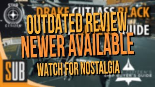 [Newer Review Available]  Drake Cutlass Black Review - A Star Citizen's Ship Buyer's Guide