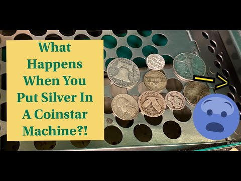 What Happens When You Put Silver Into A Coinstar Machine?