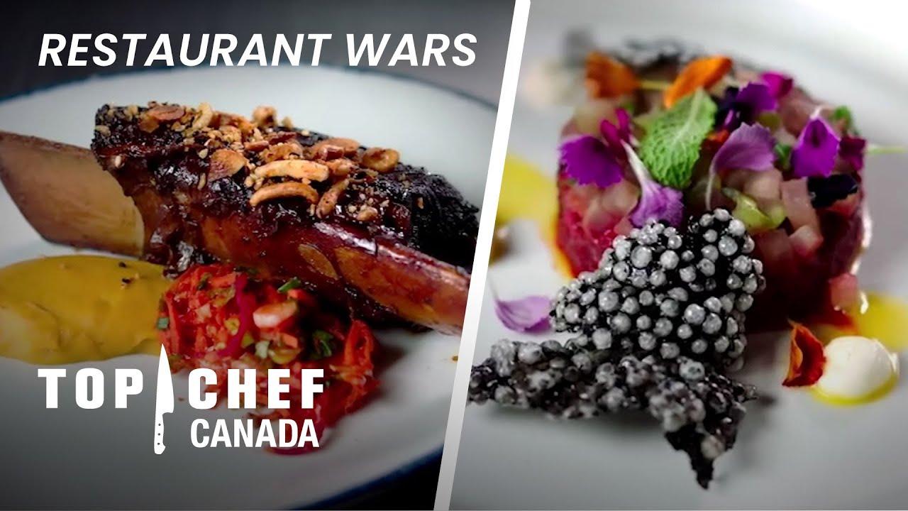 Download Canada, Asia-Inspired Menu FLOORS Judges In Restaurant Wars! | Top Chef Canada
