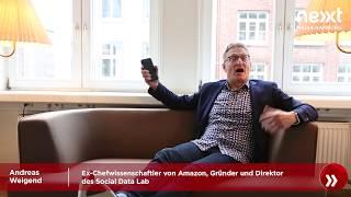 nextMedia.Minute - Andreas Weigend (Ex-Chefwissenschaftler von Amazon) über Data Mining thumbnail