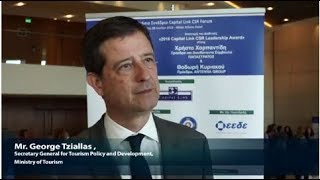 2018 8th Annual Capital Link CSR Forum - Mr. Tziallas Interview