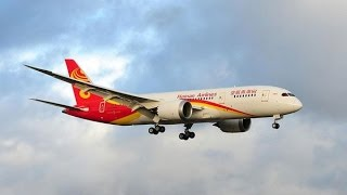 Hainan Airlines Boeing 787 Landing at Toronto Pearson International Airport [HD]