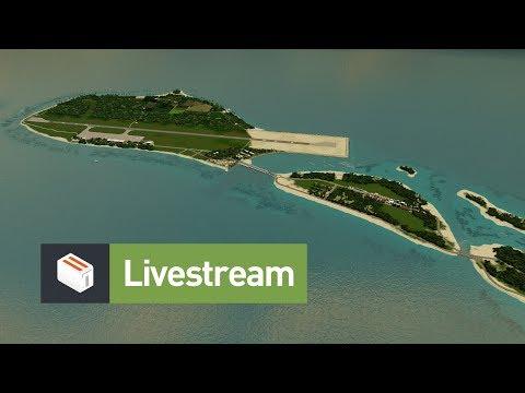 Cities Skylines: Seenu + Q&A + Announcements (Livestream)