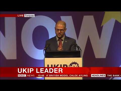 and the new UKIP  leader is....