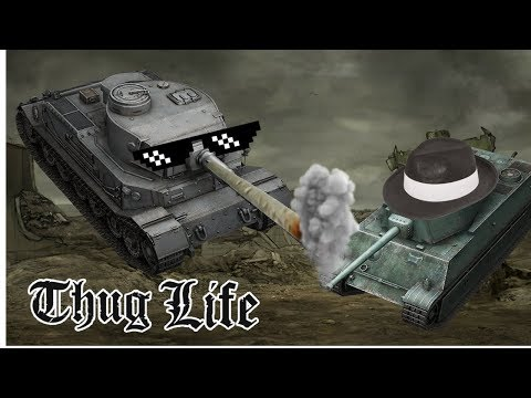 World Of Tanks Blitz: Gangster Town, Funny Moments, Fail!!!