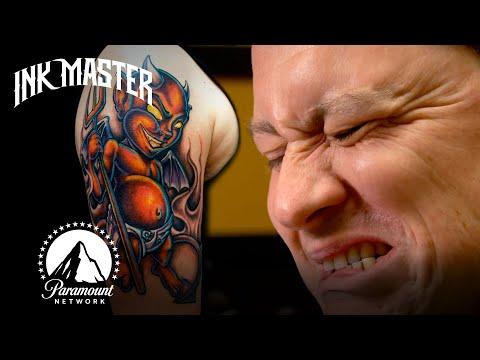 Bravest Tattoo Virgins on Ink Master