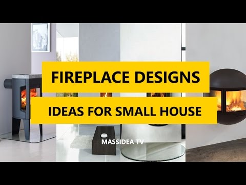 50+ Cool Fireplace Designs Using Ideas for Small House 2018