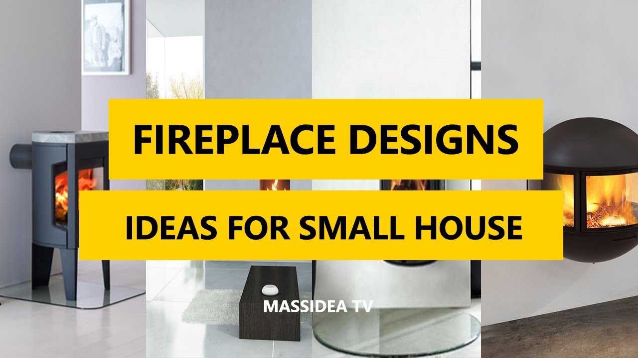 50+ Cool Fireplace Designs Using Ideas for Small House 2017 - YouTube