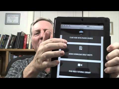 Learn How To Use The Ipad For Seniors