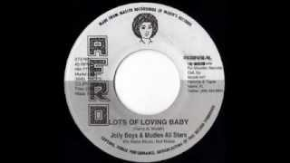 THE JOLLY BOYS + LARRY MCDONALD & MUDIES ALLSTARS - Lots of loving + Heart of Africa (1972 Afro)