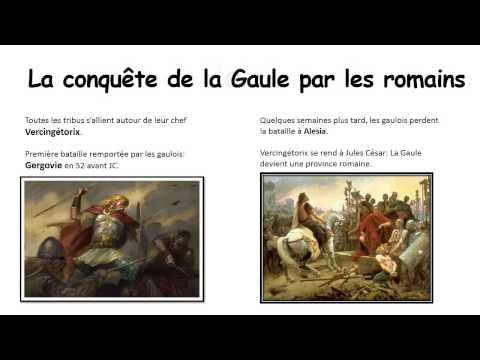 Conquêtes romaines - Romanisation – Ce2 – Antiquité – Diaporama – TBI