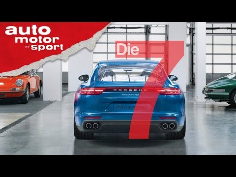 10 Jahre Buckelwal: 7 Fakten zum Porsche Panamera, die Petrolheads kennen sollten auto motor & sport