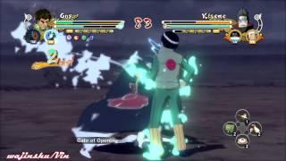 Naruto Ultimate Ninja Storm 3 Guy vs Kisame Gameplay