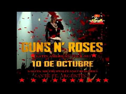 [MP3] Guns N' Roses Salón Metropolitano, Rosario (Estranged Demo)