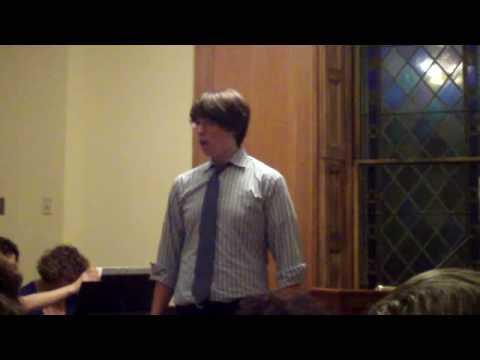 Trevor Sands June 2009 voice recital