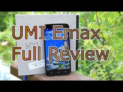 UMI Emax Full Review - 3780 mAH + MTK6752 4G + Full HD ! - Top Smartphone ! [HD]