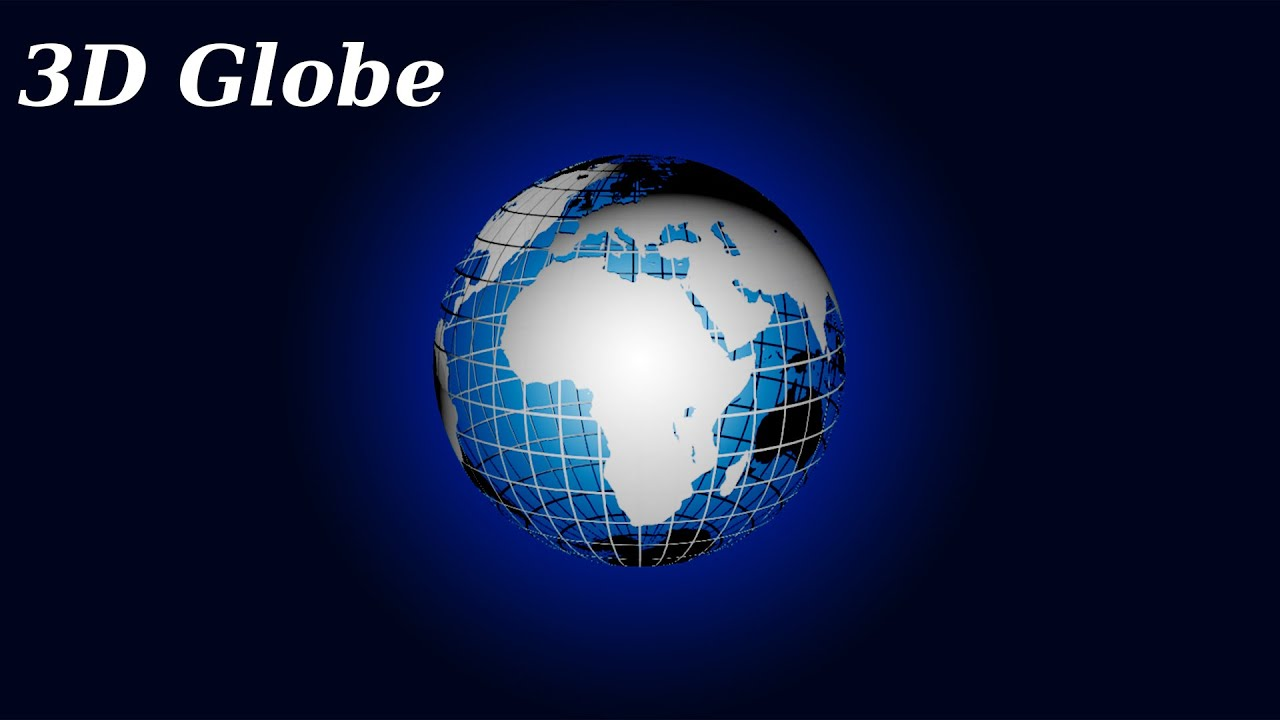 Photoshop cs5 3d globe tutorial youtube baditri Choice Image