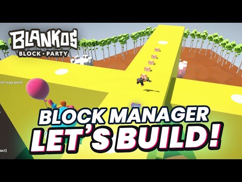 Tutorial How to Create a Big Level Quickly in Blankos Block Party?