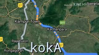 Koka... Karbi anglong most beautiful picnic spot..