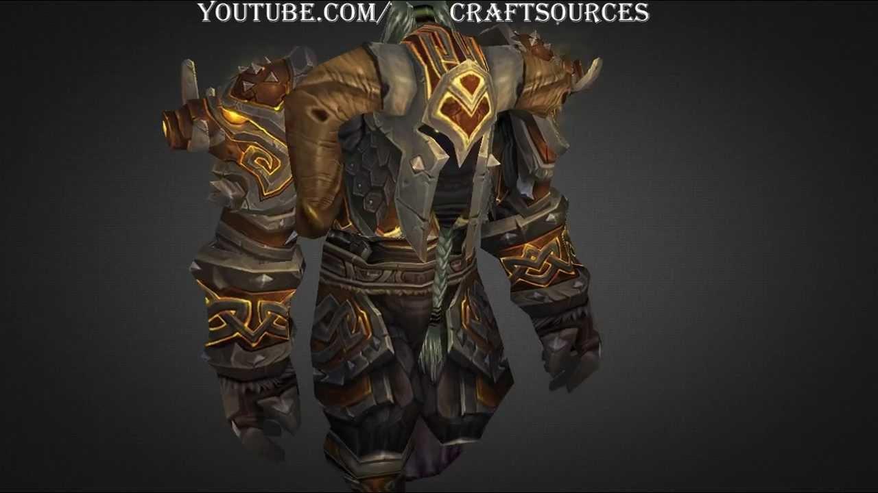 Orc Warrior Tier 10 armor set - T10 - Sanctified Ymirjar Lord\u0027s Plate / Battlegear & Orc Warrior Tier 10 armor set - T10 - Sanctified Ymirjar Lord\u0027s ...
