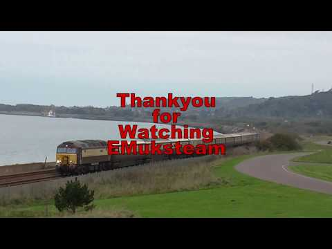 Northern Belle Cardiff to Fishguard Harbour 14 10 2017
