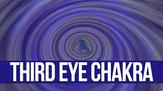 Chakra 6 - Ajna, Brow, The Third Eye Chakra, Violet Visualization (Meditation,Yoga, Music)