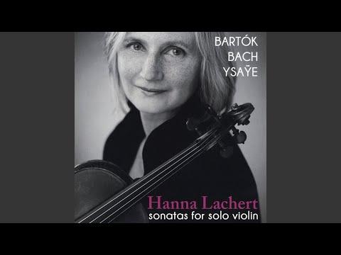 Sonata for Violin Solo No.1 in G Minor, BWV 1001: IV. Presto