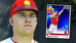 DIAMOND MIKE TROUT DEBUT! MLB THE SHOW 19 DIAMOND DYNASTY