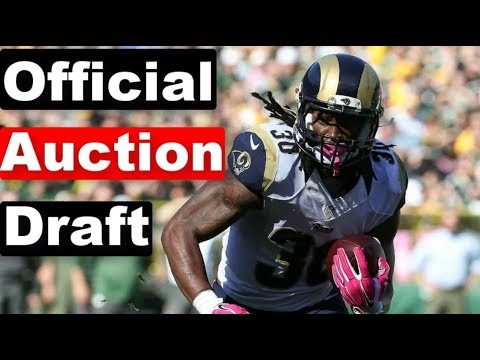 EXPERT Auction Draft (ELITE Roster) | 2019 Fantasy Football