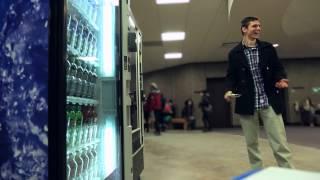 Vending Machine Prank – Eat Healthier Promise – University at Buffalo (UB)