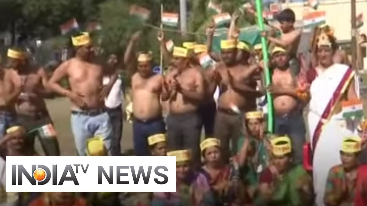 Women, half-naked, protest Sowores continued detention in
