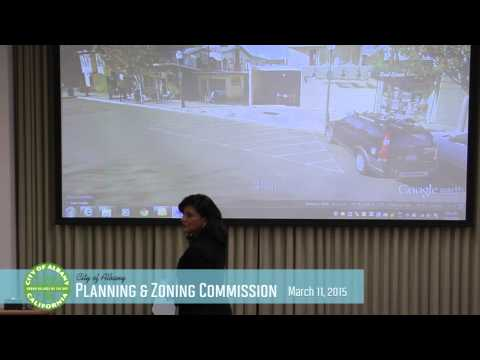 Planning & Zoning Commission - Mar 11, 2015