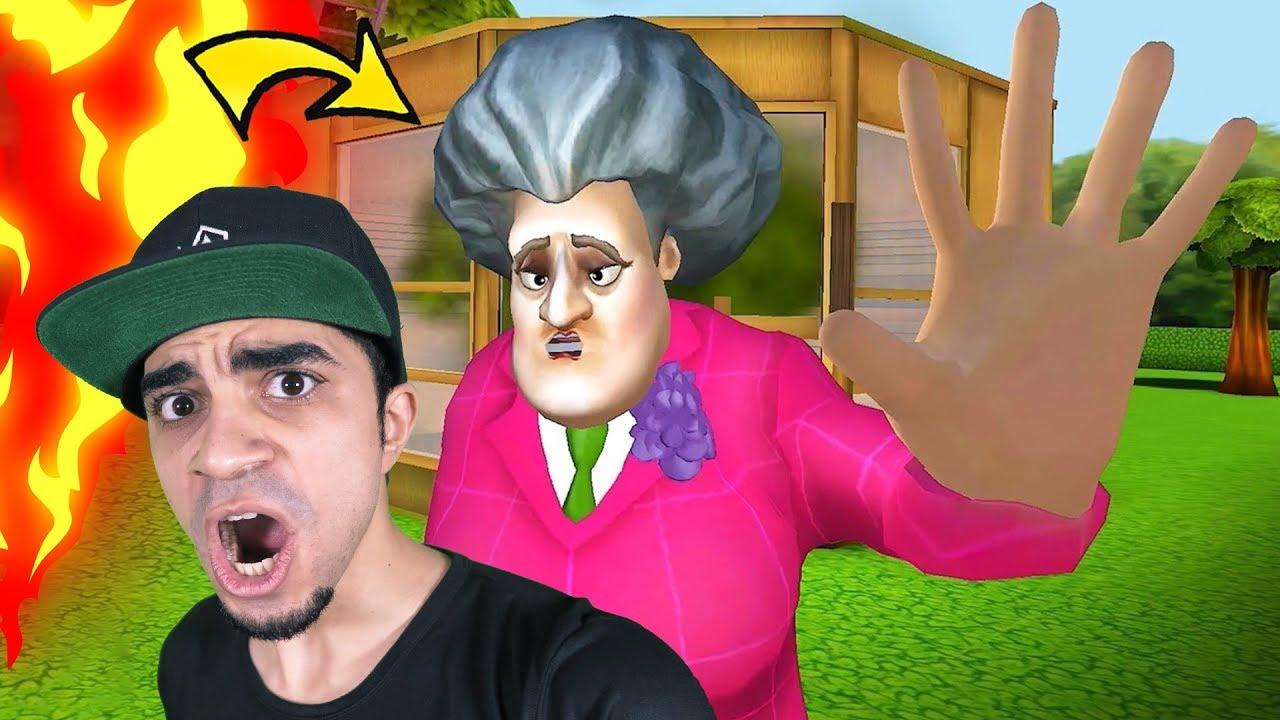 مقالب مضحكة في المدرسة المرعبة Scary Teacher 3D !!