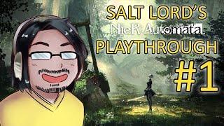 【Nier: Automata】First playthrough(2B) Part 1