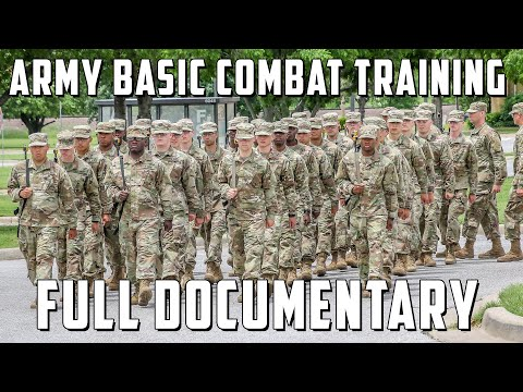 What Army Recruits Go Through In Boot Camp Army Basic Combat Training Experience Documentary