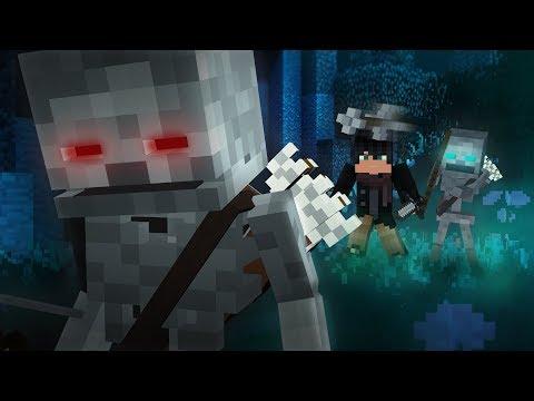 """♫ """"Skelly Friend"""" - Minecraft Parody of Armin van Buuren - This Is What It Feels Like"""
