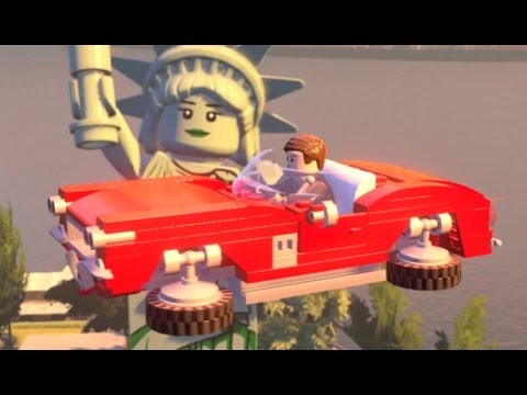LEGO Marvel's Avengers - All Air Vehicles in Action (Vehicle Showcase)