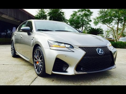 2016 Lexus GS F & GS 350 Full Review /Start Up /Exhaust /Short Drive