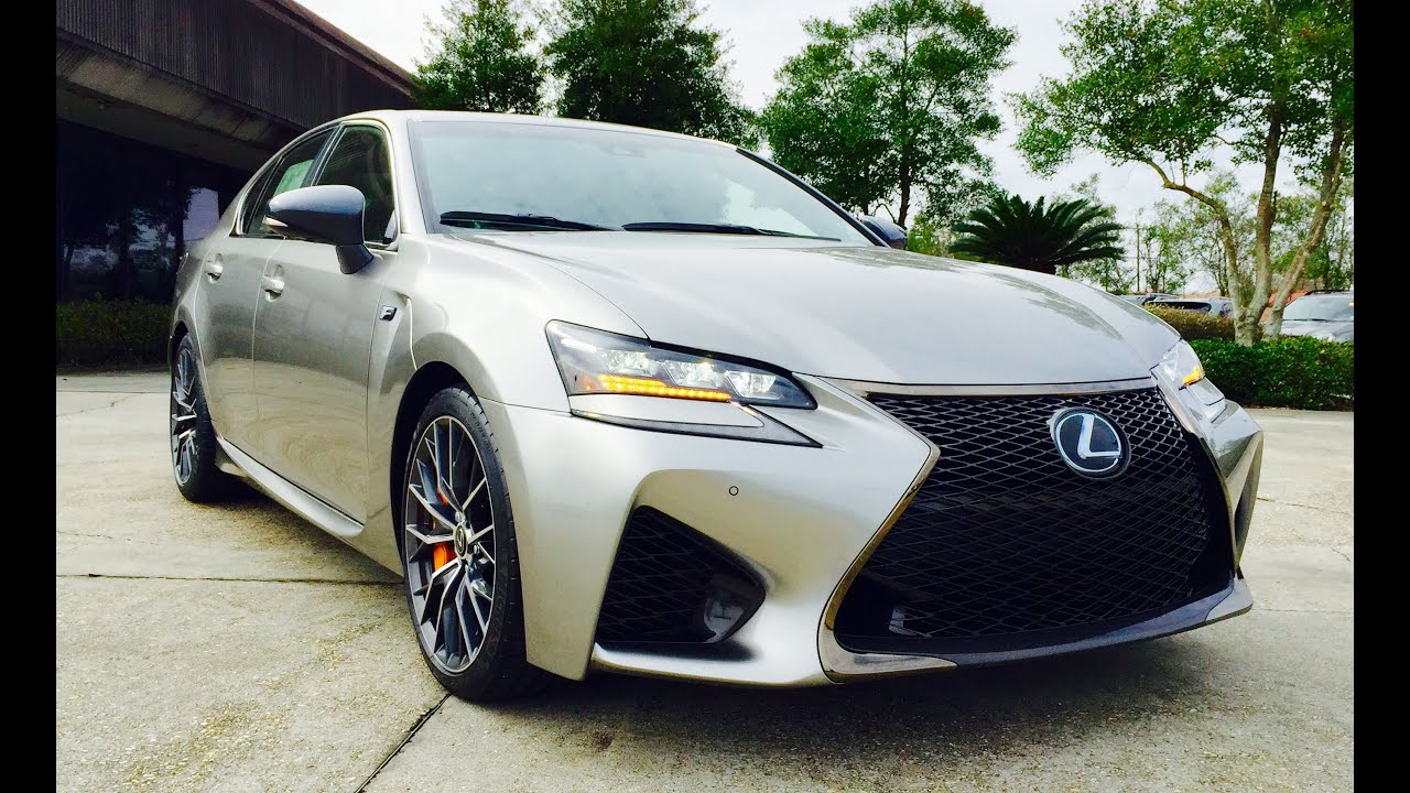 2016 Lexus GS F U0026 GS 350 Full Review /Start Up /Exhaust /Short Drive    YouTube